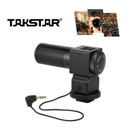 Takstar SGC-698 Photography Interview On-camera Microphone For DSLR Canon Camera