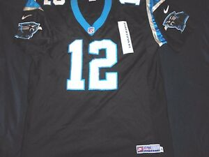 8ede49cf1 Kerry Collins 12 Carolina Panthers Nike NFL Jersey 52 Authentic Pro ...