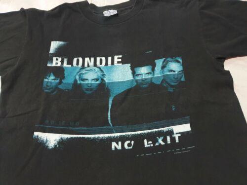 Rare vintage 90s Blondie No Exit t shirt