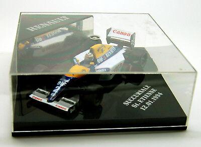 KH Casque F1 heco miniatures Alain PROST formule 1 voiture malboro 2,5 1,8 2,2cm