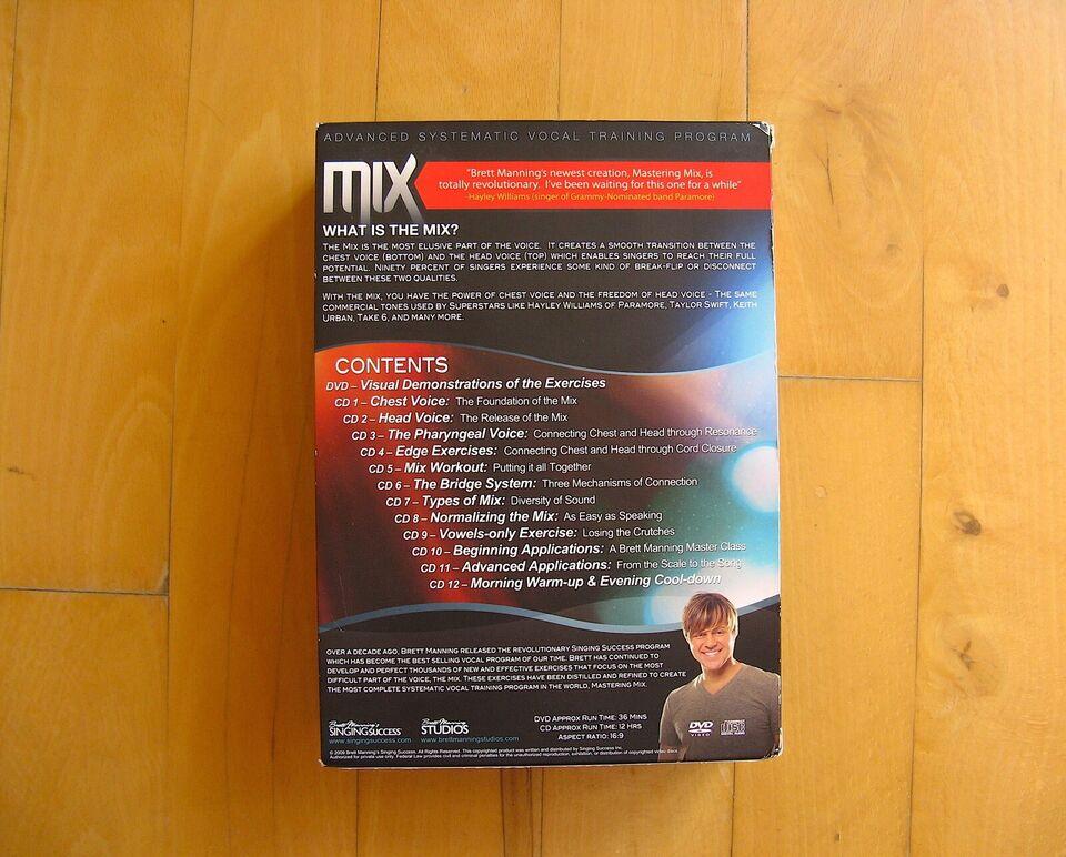 Brett Manning Mastering Mix