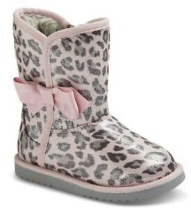 3192b31cf7b4 Image is loading NWT-Cherokee-Toddler-Girls-Debbie-Shimmery-Pink-Cheetah-