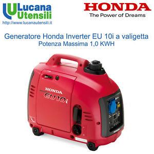 HONDA-GENERATORE-Tecnologia-INVERTER-SILENZIATO-mod-EU10i-Portatile-Valigetta
