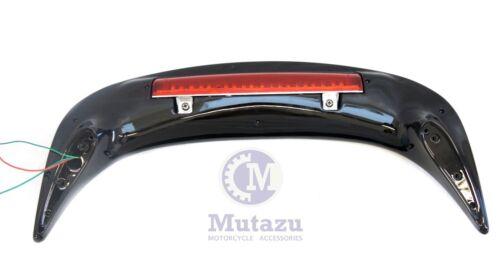 Mutazu Vivid Black LED Light Spoiler for Honda Goldwing GL 1800 2001-2013