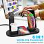 miniatura 1 - Qi Inalámbrico Cargador Dock de 6 en 1 para i Watch iPhone 12 Airpod Samsung FE