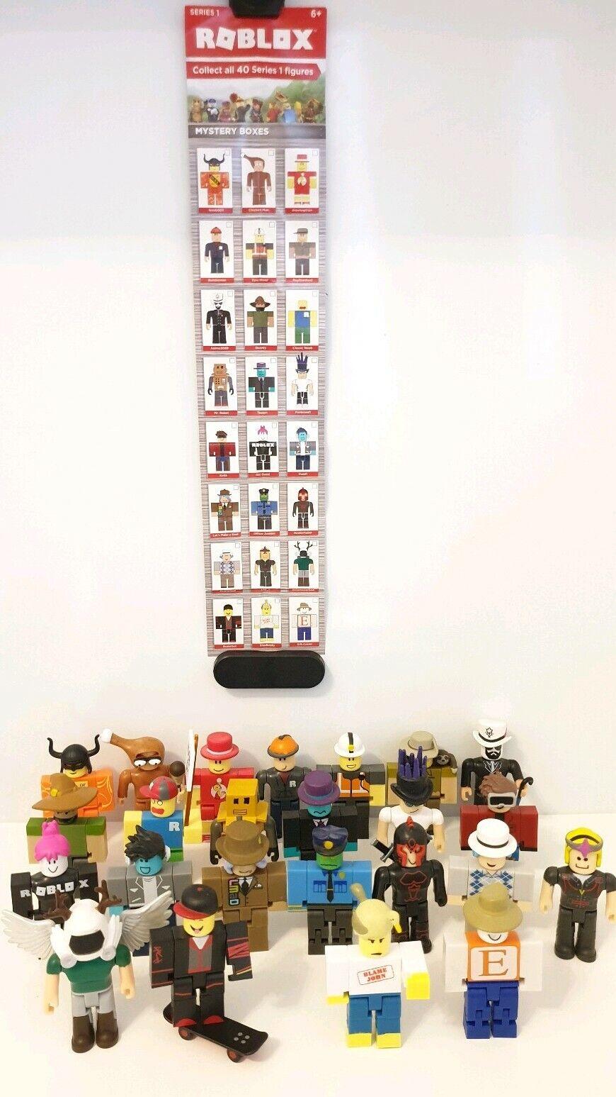 alta calidad y envío rápido ROBLOX Series 1 Figuras Caja De Misterio Lote de colección colección colección completa.  Venta barata