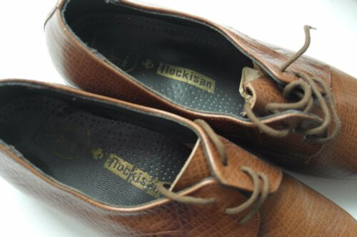 Flocki bambini Flockistan Stringate Vintage Scarpe Quadro True Teak Mocassini per rwrSqPxta