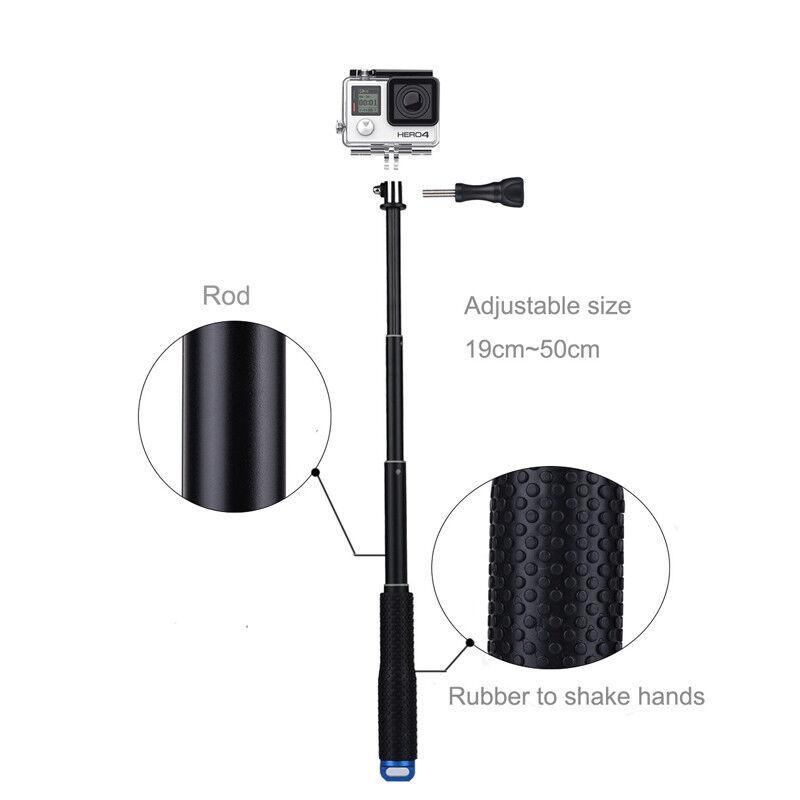 GoPro HERO7 Black Action Camera Accessories Kit For Go Pro Hero 6/5/4 New Model 9