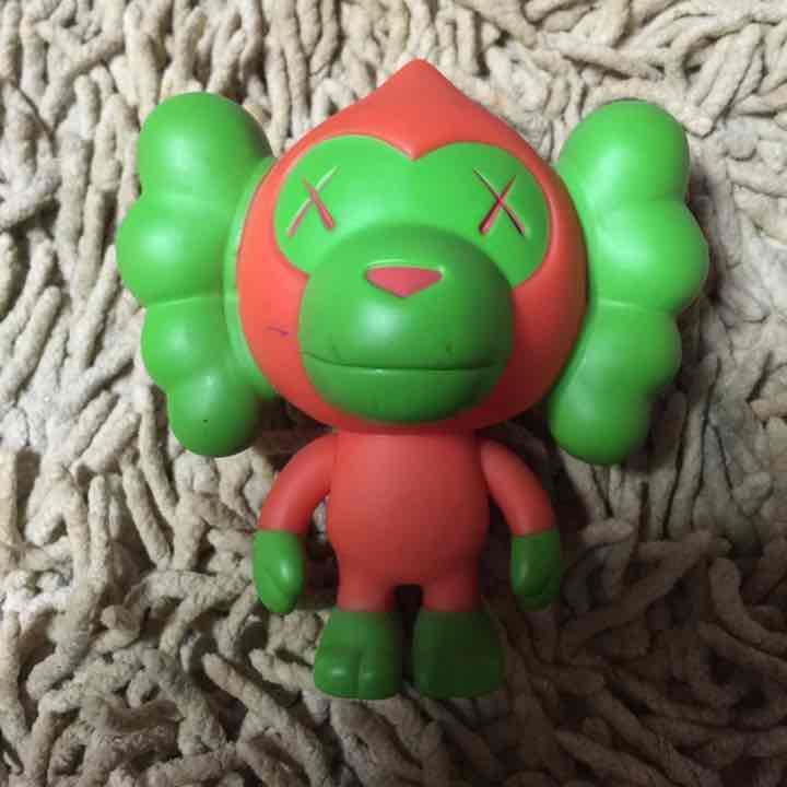 KAWSxAPE demon rare  Baby Milo Figure