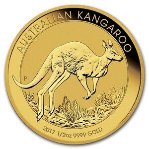 Australie 50 Dollar Or 1/2 Once Kangourou 2017 - 1/2 Oz Gold Kangaroo Ul9rtscp-08003824-853405080