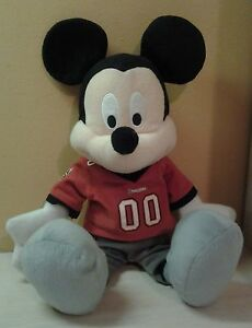 17-DISNEY-MICKEY-MOUSE-PLUSH-FOOTBALL-TAMPA-BUCCANEERS