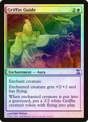 Humor Griffin Guide Foil Time Spiral Pld-sp White Uncommon Magic Mtg Card Abugames Online Winkel
