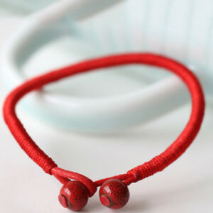 Hand Braided Lucky Red String Rope Cord