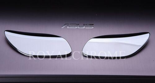Premium Head Light Washer Covers x2 for Porsche Cayenne LCI 957 CHROME