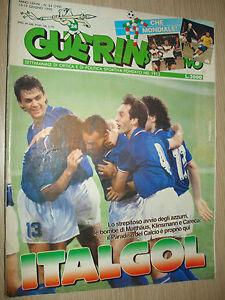 GUERIN-SPORTIF-1990-ANNEE-LXXVIII-N-24-799-ITALGOL-COUPE-DU-MONDE-ITALIE-90