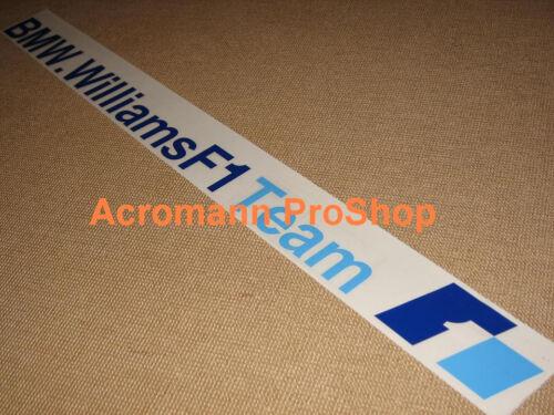 "28/""71cm BMW Williams F1 windshield decal sticker team racing window sun visor m3"