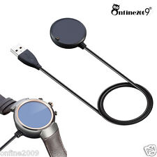Qi Wireless Charger Charging Dock Pad +USB Cable For ASUS Zenwatch 3 Smart Watch
