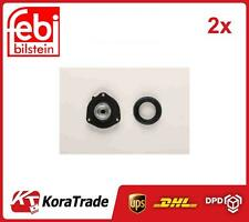 2x 22502 FEBI BILSTEIN FRONT AND SHOCK ABSORBER TOP MOUNT CUSHION SET