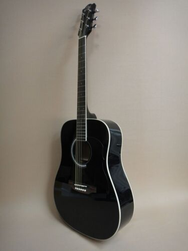 EKO Ranger 6 Black Acoustic Guitar + Gig Bag + Strings 35% SLASHED!