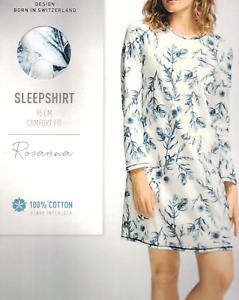Calida femme chemise de nuit Sleepshirt long bras XS-XL 32526 coton 488 en ligne