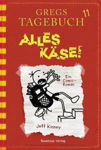 GREGS-TAGEBUCH-11-Alles-Kaese-gebunden-UNGELESEN-von-Jeff-Kinney