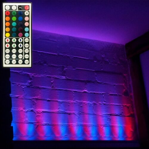 LED Wallwasher RAINBOW rgb Wandstrahler Design-Strahler 24LED 5,7 Jahre programm