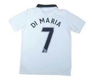Manchester United 2014-15 ORIGINALE Away Camicia di Maria #7 (OTTIMO) L Ragazzi