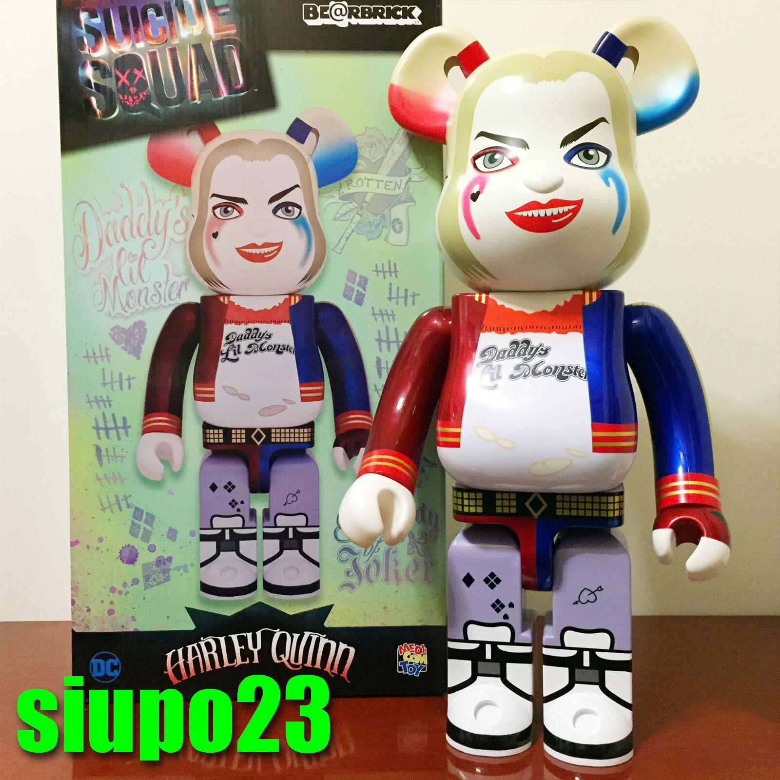 Medicom 1000% orsobrick  Harley Quinn Be@rbrick Suicide Squad