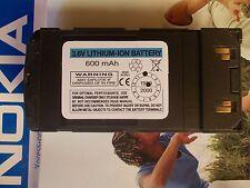 NOKIA 8110 8110I BATTERIA  battery 7,2V  600 mAh NUOVA RIGENERATO CASELLE NUOVE