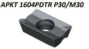P30-M30 Wendeschneidplatten für Stahl und Edelstahl APKT 1003PDSR-30 ND3430