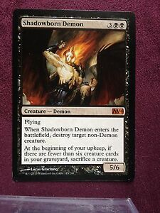 Shadowborn-Demon-VO-MTG-Magic-Mint-NM