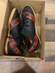 Details about Adidas Nemeziz Tango 17.3 Junior Kids Boy Indor Soccer Shoes CP9182 Black Size 1