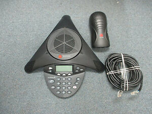 Polycom SoundStation 2 2201-16000-001 Non Expandable Display Conference Phone