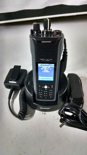 Harris XG-100P Two Way Radio