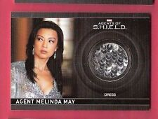 MELINDA MAY MARVEL COMICS WORN DRESS COSTUME RELIC SWATCH CARD AGENTS OF SHIELD