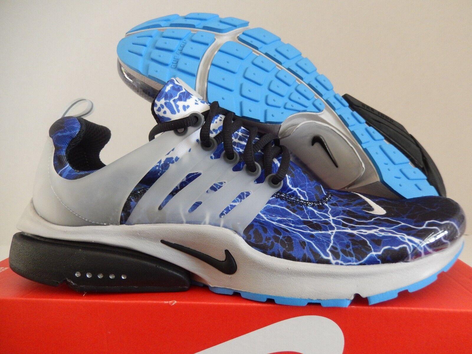 Nike Air QS presto QS Air Iluminacion Negro-zen Gris-har Azul reduccion de precio el mas popular de zapatos para hombres y mujeres 6d9749