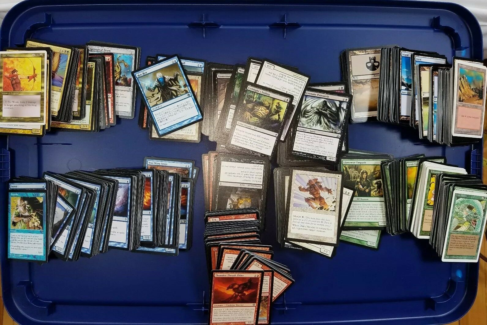 Lot Of 700 Commons Uncommons 700+ Non Foreign 19 foreign 150 basic lands