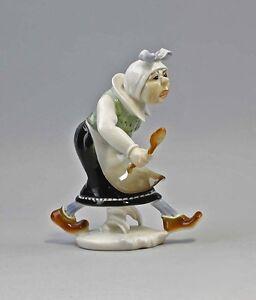 Decorative Arts Persevering 9941347 Porcelain Figurine Wilhelm Busch Widow Bolte Ens