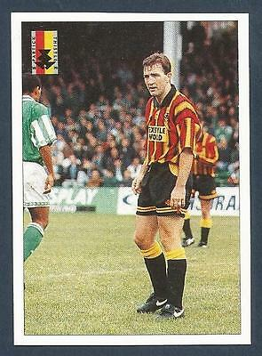 PANINI SCOTTISH FOOTBALL LEAGUE 95 #263-PARTICK THISTLE v HIBERNIAN ACTION