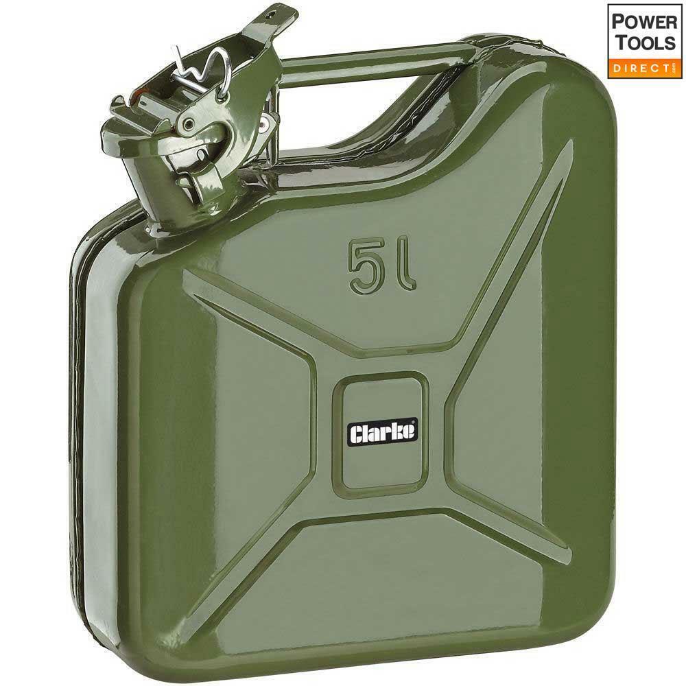 Clarke JC5LG 5 litros de combustible puede (verde)