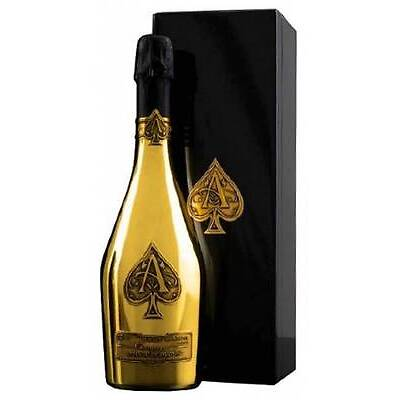 Armand de Brignac Brut Gold Ace of Spades One 750ml Bottle Champagne