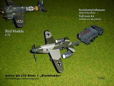 """Hütter Hü 136 Stubo 1 """"Sturmbomber""""    1/72 Bird Models Resinbausatz / resin kit"""