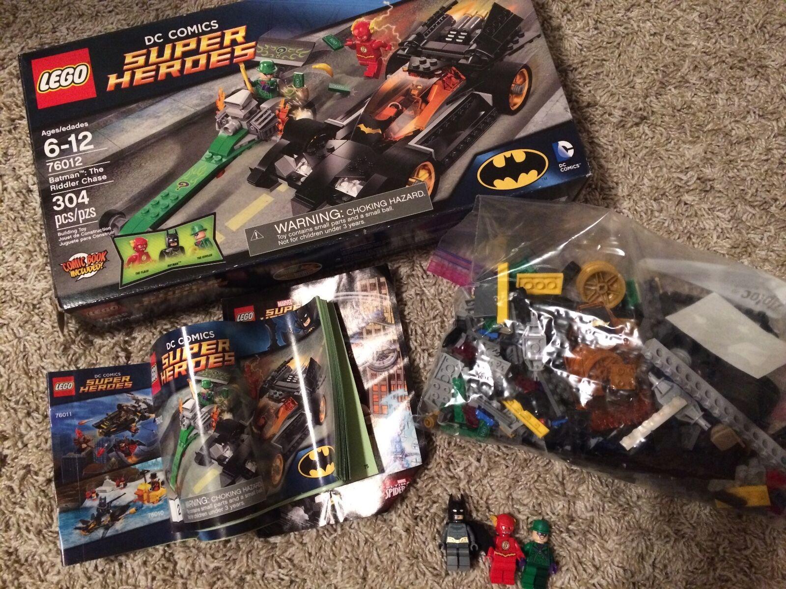 Lego kit 76012 Batman  The Riddler Chase Chase Chase - DC Comics Superheros cddf78