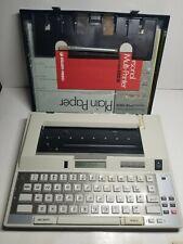 Vintage Silver Reed Personal Multi Printer Typewriter Exd10 Tested Working