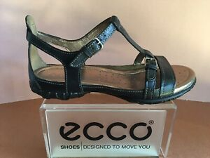 Details about ECCO Women's Groove T Strap Sandal 205753, Select ColorSize First Quality