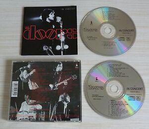 2-CD-ALBUM-THE-DOORS-IN-CONCERT-THE-DOORS-31-TITRES-1991-MADE-IN-GERMANY