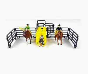 Big Country PRCA Pro Rodeo Roping Set 1:20 Scale Toy