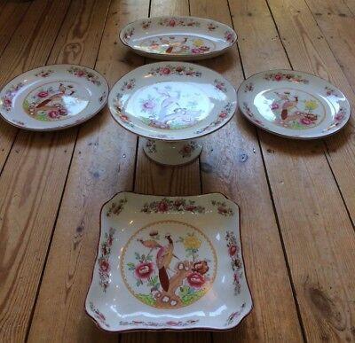 Crown Pottery Stoke-on-Trent Faience Antique Art Nouveau Ceramic Art Co Ltd