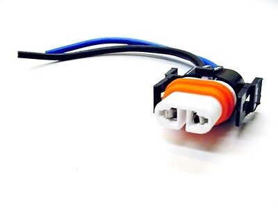 polaris sportsman hi-temp headlight bulb wire harness connector pigtail  plug atv