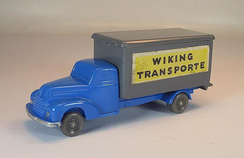 Wiking rollachser FORD Valise Camion Wiking Transports Bleu ciel Basaltgris